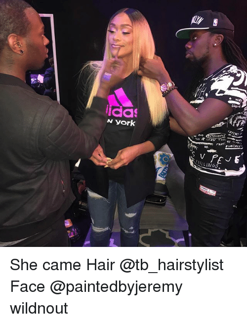 Memes, Hair, and 🤖: ida  AND  EELLINGS. She came Hair @tb_hairstylist Face @paintedbyjeremy wildnout