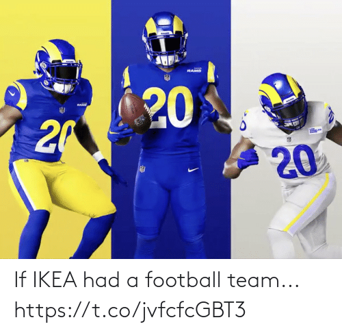 Football: If IKEA had a football team... https://t.co/jvfcfcGBT3