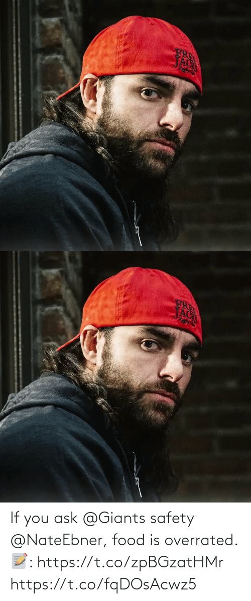 Safety: If you ask@Giants safety @NateEbner, food is overrated.   📝: https://t.co/zpBGzatHMr https://t.co/fqDOsAcwz5
