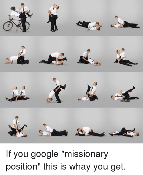 The missionary position the