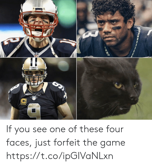 Football, Nfl, and Sports: If you see one of these four faces, just forfeit the game https://t.co/ipGIVaNLxn