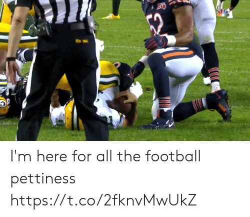 Football, Nfl, and All The: I'm here for all the football pettiness     https://t.co/2fknvMwUkZ