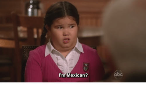 Im Mexican: I'm Mexican?