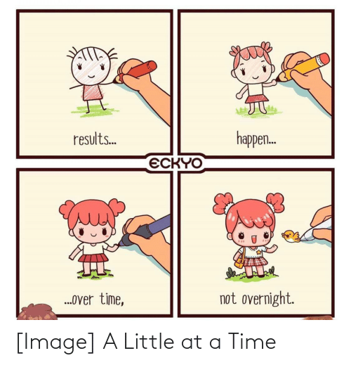 at-a-time: [Image] A Little at a Time