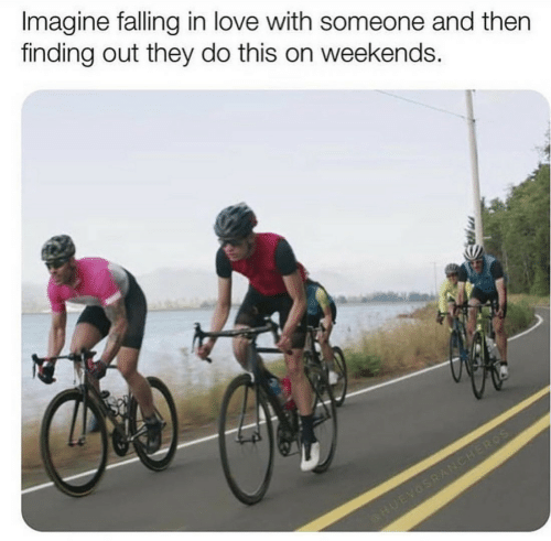 Love, Imagine, and They: Imagine falling in love with someone and then  finding out they do this on weekends.  eHUEVOSRANCHEROS