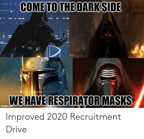 Improved: Improved 2020 Recruitment Drive