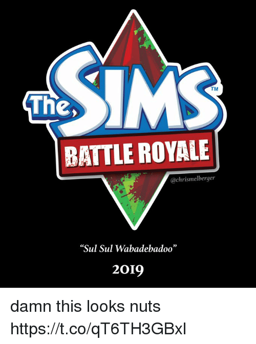 "Battle Royale, Ims, and Royale: IMS  TM  The,  BATTLE ROYALE  @chrismelberger  Sul Sul Wabadebadoo""  2019 damn this looks nuts https://t.co/qT6TH3GBxl"