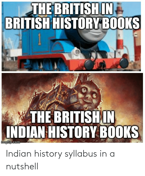 Syllabus: Indian history syllabus in a nutshell