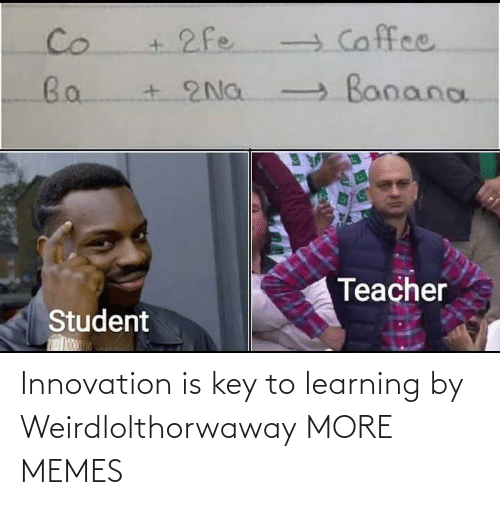 Learning: Innovation is key to learning by Weirdlolthorwaway MORE MEMES
