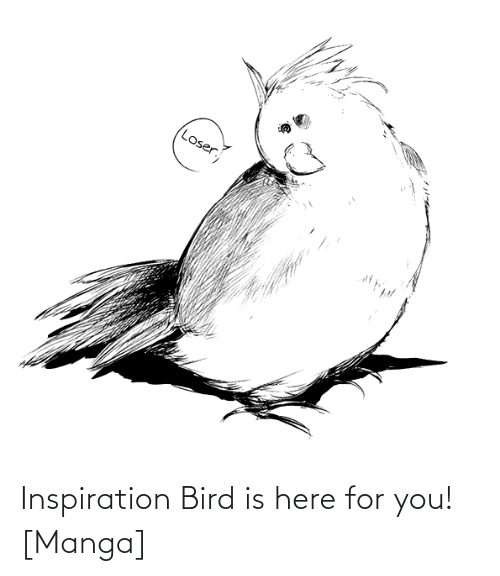 bird: Inspiration Bird is here for you! [Manga]