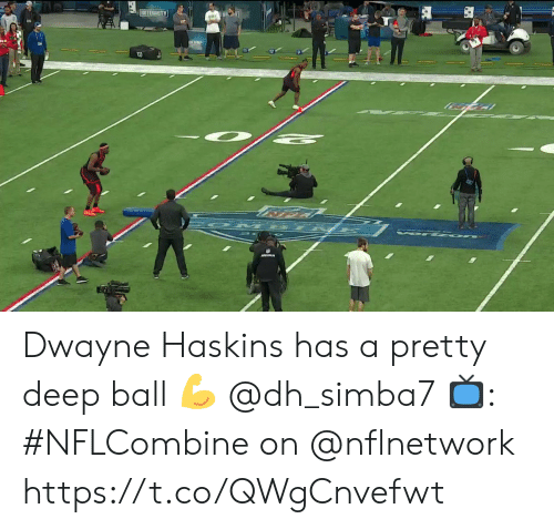 Memes, 🤖, and Deep: INTERRITY  15  12 Dwayne Haskins has a pretty deep ball 💪 @dh_simba7  📺: #NFLCombine on @nflnetwork https://t.co/QWgCnvefwt