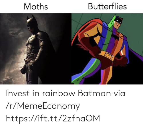Batman: Invest in rainbow Batman via /r/MemeEconomy https://ift.tt/2zfnaOM