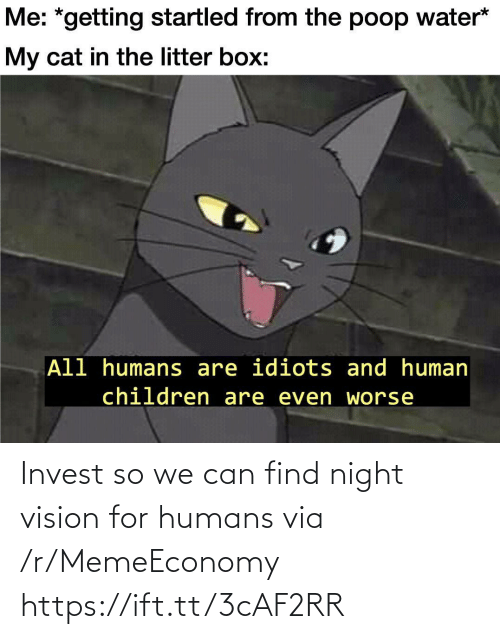 Vision: Invest so we can find night vision for humans via /r/MemeEconomy https://ift.tt/3cAF2RR