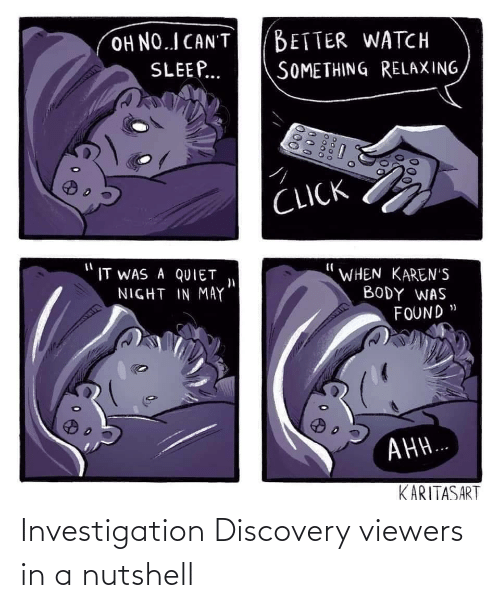 discovery: Investigation Discovery viewers in a nutshell