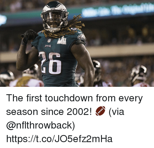 Ions: IONS  26 The first touchdown from every season since 2002! 🏈  (via @nflthrowback) https://t.co/JO5efz2mHa
