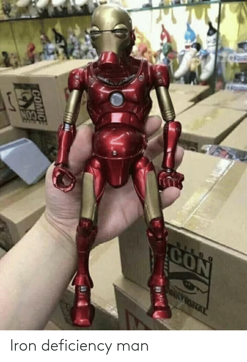 Iron, Man, and Iron Deficiency: Iron deficiency man