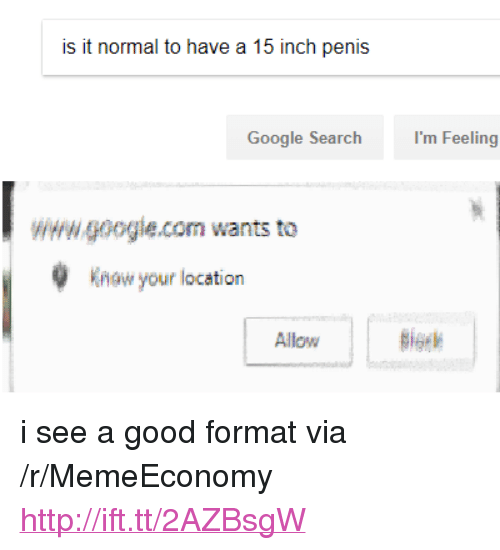 Is It Normal to Have a 15 Inch Penis Google Search I'm Feeling