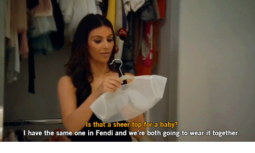 fendi: Is that a sheer top for a baby?  I have the same one in Fendi and we're both going to wear it together