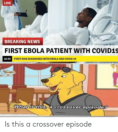 crossover: Is this a crossover episode