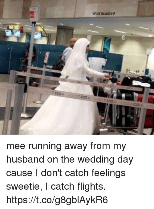 Mee Running Away From My Husband On The Wedding Day Cause I Dont