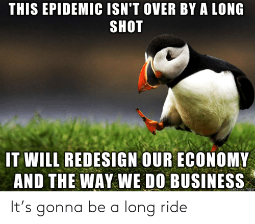 ride: It's gonna be a long ride