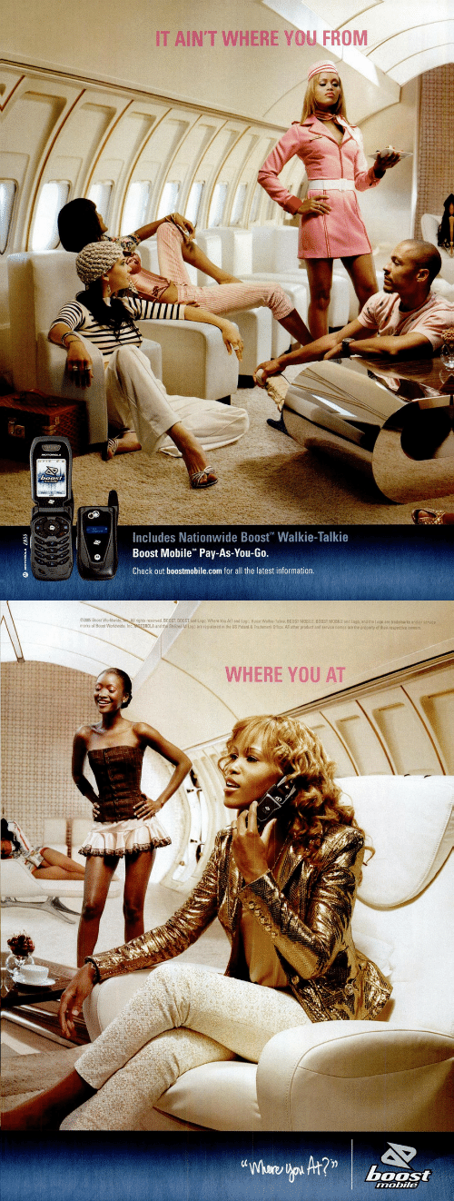 Nationwide, Wat, and Boost: IT AIN'T WHERE YOU FROM  Includes Nationwide Boost Walkie-Talkie  Boost Mobile Pay-As-You-Go.  Check out boostmobile.com for all the latest information.   2005 Boost World s eserved. B00ST BOOST and Logo, Whero You At?» d toga, Boog wat e Talkie BOOST MOBILE BOOST MOBILE and toga and the Logo are trade arks an orst  marks of Boost Worldwide, Inc MOTOROLA and the Stylized M Logo are registered in the US Patent& Trademark Office All other product and service names are the property of thair respective owners  WHERE YOU AT  boost  mobile