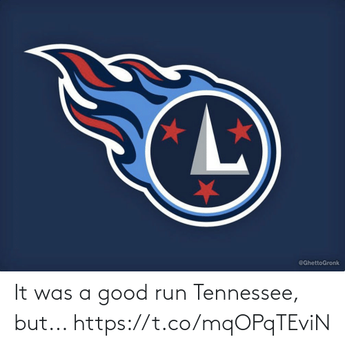 Was A: It was a good run Tennessee, but... https://t.co/mqOPqTEviN