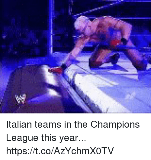 Soccer, Champions League, and League: Italian teams in the Champions League this year... https://t.co/AzYchmX0TV
