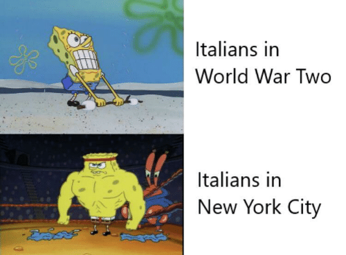 New York, World, and New York City: Italians in  World War Two  Italians in  New York City