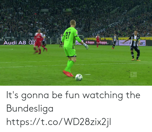 watching: It's gonna be fun watching the Bundesliga   https://t.co/WD28zix2jl