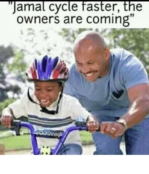faster: JAMAL CYCLE FASTER