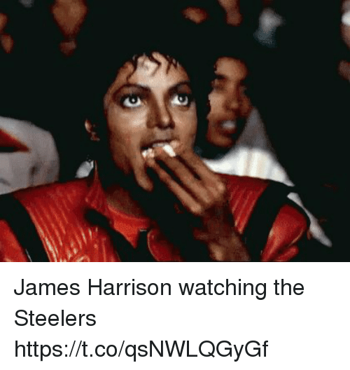 Memes, Steelers, and James Harrison: James Harrison watching the Steelers https://t.co/qsNWLQGyGf