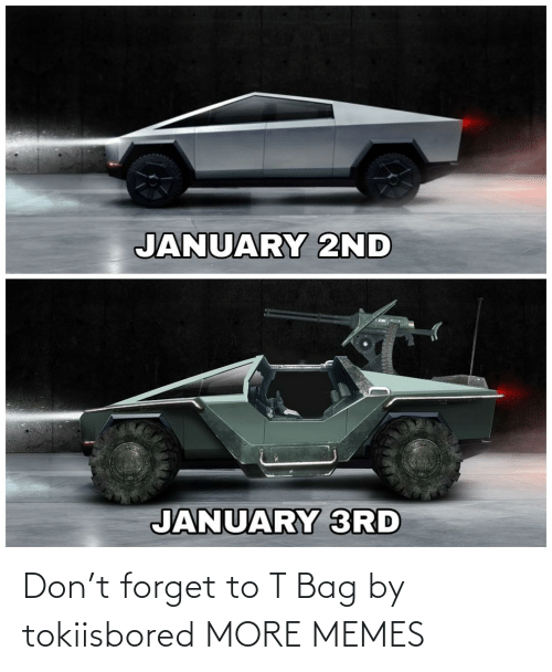 january: JANUARY 2ND  JANUARY 3RD Don't forget to T Bag by tokiisbored MORE MEMES