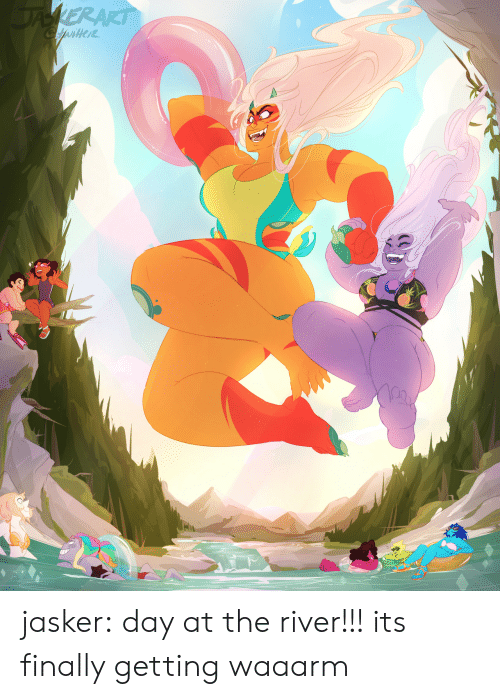 Tumblr, Blog, and Com: jasker:  day at the river!!! its finally getting waaarm