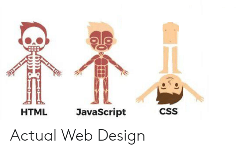 Design, Javascript, and Html: JavaScript  CSS  HTML Actual Web Design