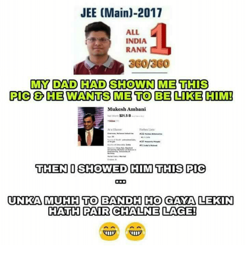 25 Best Memes About Jee Main 2017 Jee Main 2017 Memes