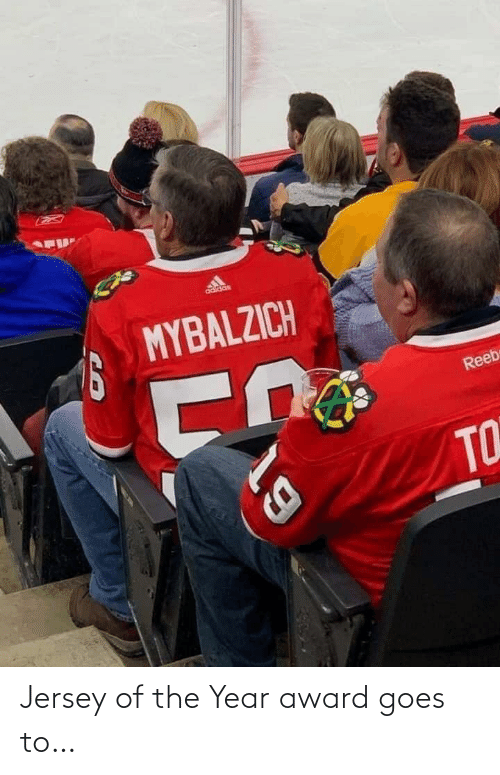 award: Jersey of the Year award goes to…
