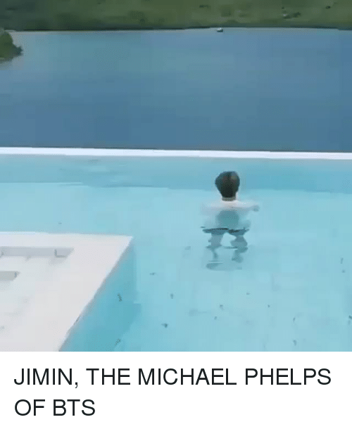 Michael Phelps: JIMIN, THE MICHAEL PHELPS OF BTS
