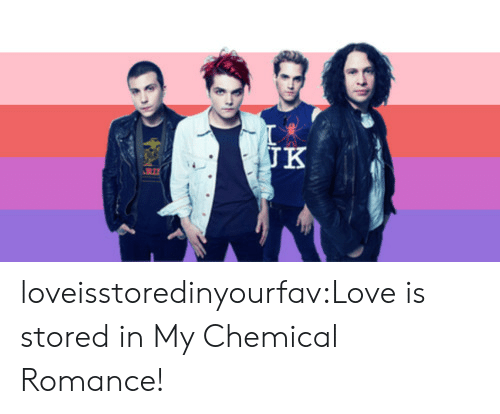 my chemical romance: JK loveisstoredinyourfav:Love is stored in My Chemical Romance!