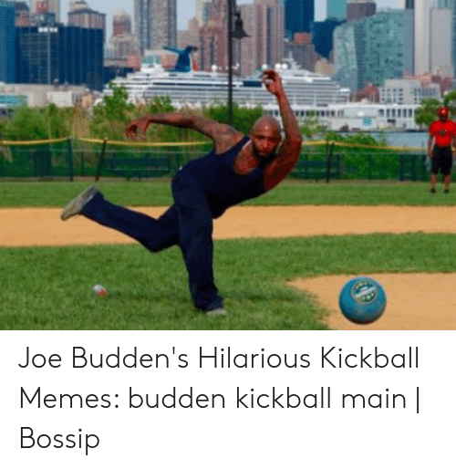 Joe Buddens: Joe Budden's Hilarious Kickball Memes: budden kickball main | Bossip