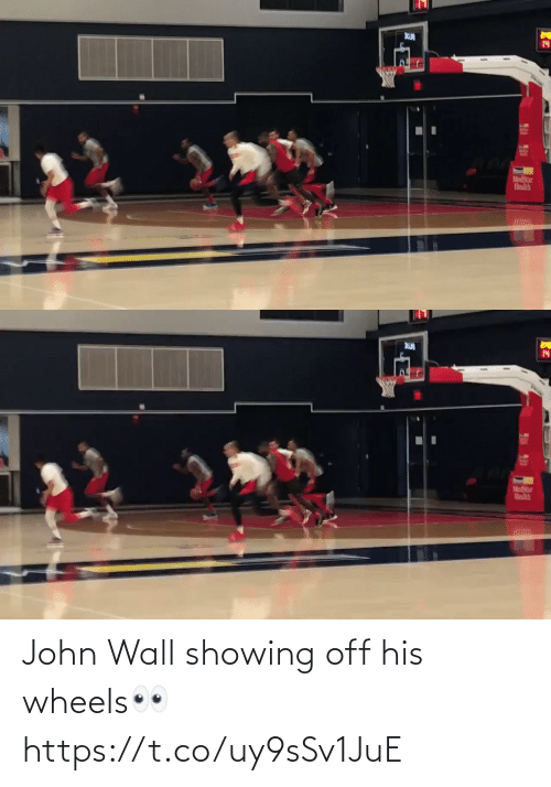 Off: John Wall showing off his wheels👀 https://t.co/uy9sSv1JuE