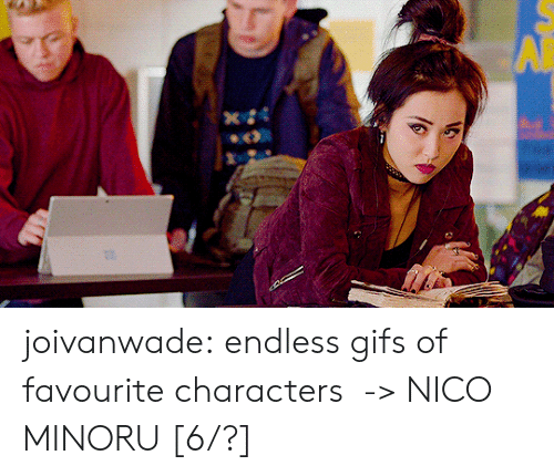 endless: joivanwade:    endless gifs of favourite characters  -> NICO MINORU [6/?]