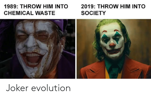 Evolution: Joker evolution