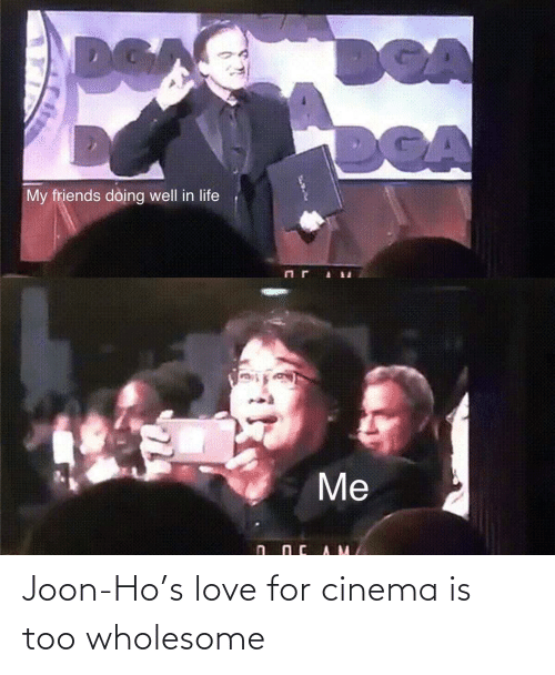 Love, Wholesome, and Cinema: Joon-Ho's love for cinema is too wholesome