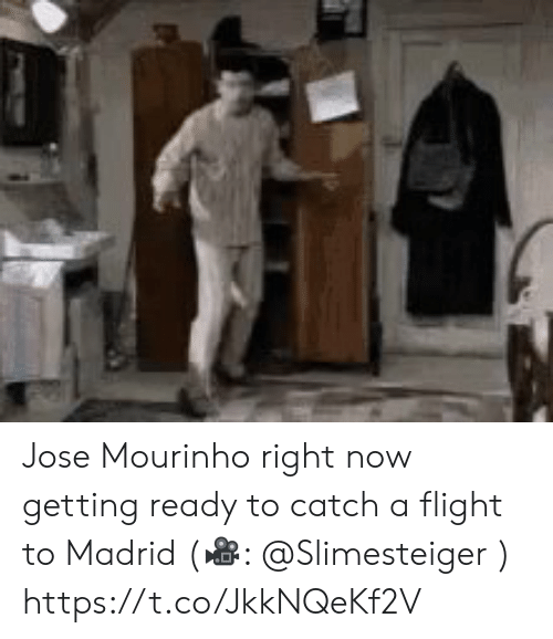 madrid: Jose Mourinho right now getting ready to catch a flight to Madrid (?: @Slimesteiger )  https://t.co/JkkNQeKf2V