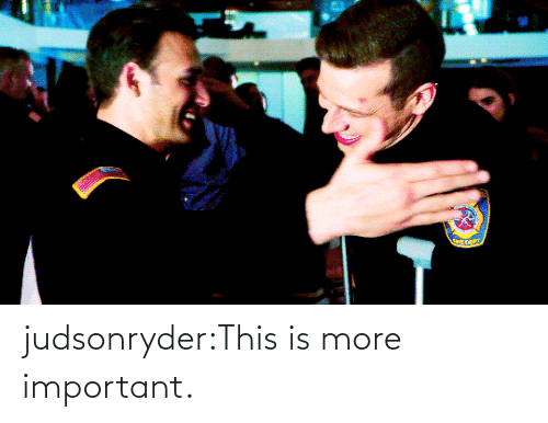 E: judsonryder:This is more important.