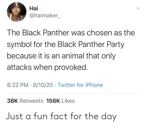 fun: Just a fun fact for the day