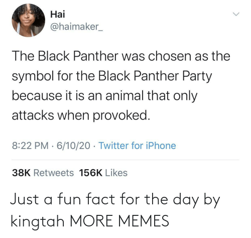 fun fact: Just a fun fact for the day by kingtah MORE MEMES