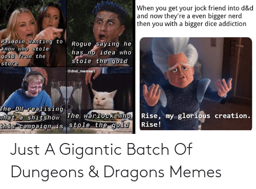 gigantic: Just A Gigantic Batch Of Dungeons & Dragons Memes