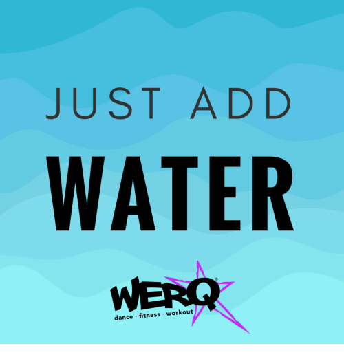 Dance Fitness: JUST ADD  WATER  dance fitness workout